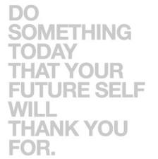 Do Something Today......