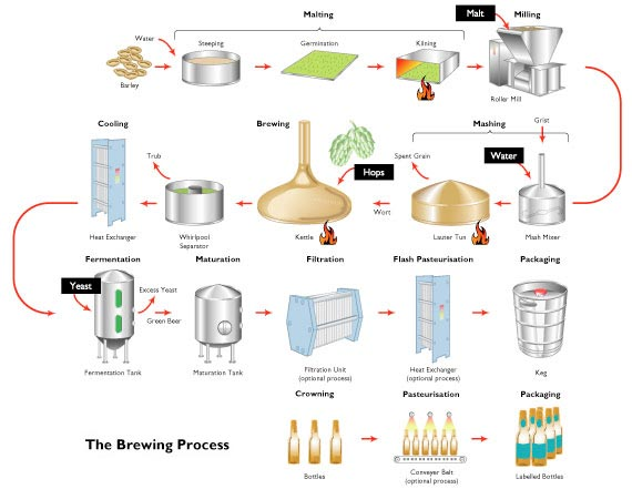 beer flow diagram wiring diagram rh a9 auto technik schaefer de beer flow chart poster beer filtration flow diagram